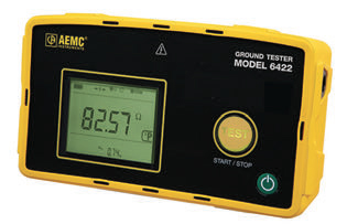 AEMC® Introduces two NEW Portable Hand-Held Ground Resistance Testers, Models 6422 and 6424