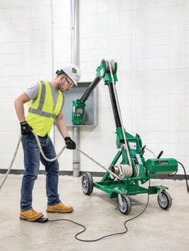Emerson Expands Greenlee® Lineup with 10,000 Pound G10 TUGGER™ Heavy Duty Cable Puller