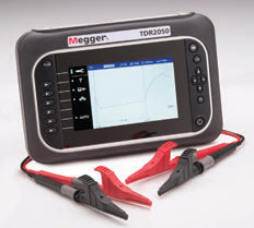Advanced Dual Channel TDR from Megger Can Detect Illegal Taps