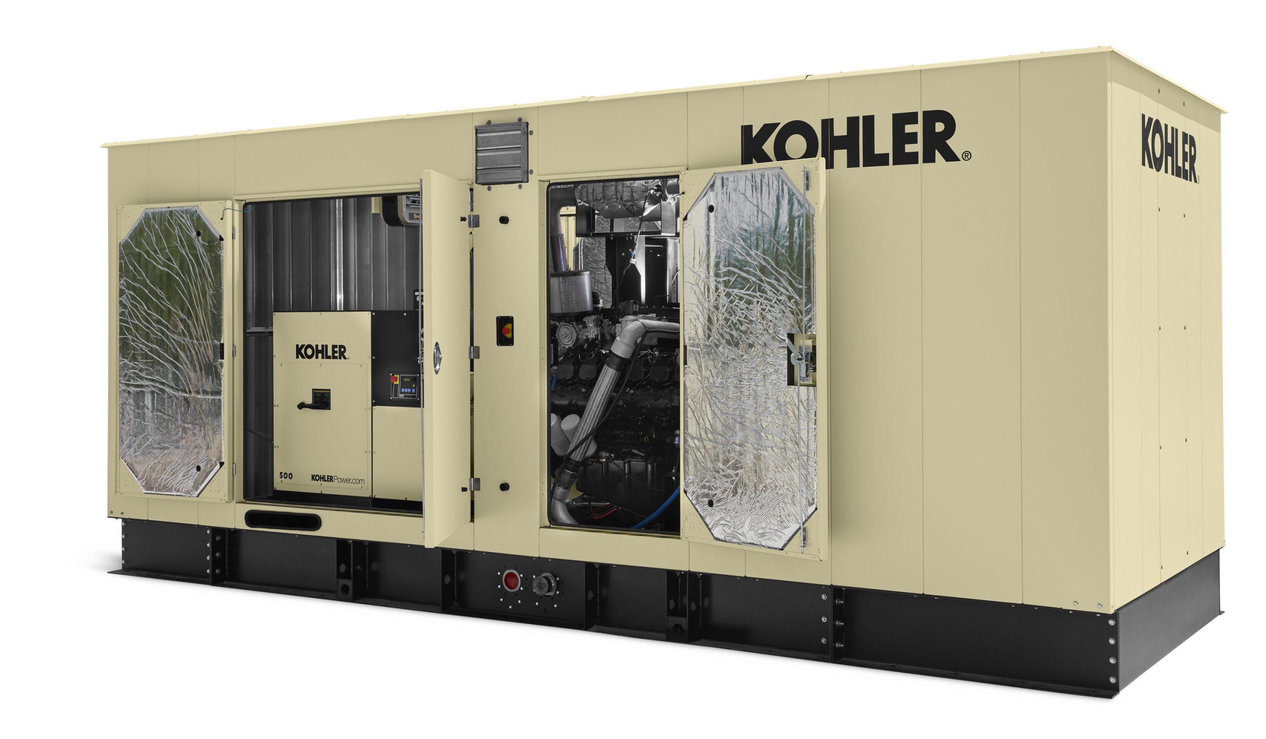 KOHLER Launches 300-500 kW Gas-Powered Generators