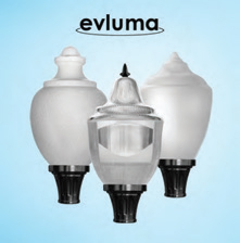 Evluma's Build-Your-Own Acorn is an Affordable Answer to Decorative Streetlight LED Upgrades