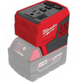 Recharge Faster and Power Simultaneously with the M18™ TOP-OFF™ 175W Power Supply
