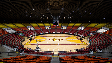 The Right LED Solution for the Fant-Ewing Coliseum