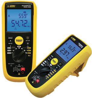 AEMC® Introduces two NEW Hand-Held Megohmmeter/ Multimeter, Models 6528 & 6529