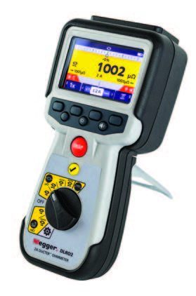 2-Amp Ducter™ Low Resistance Ohmmeter