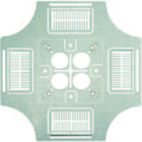 4-way Conduit & Box Support Plate Split Fingers Positioning Device for Horizontal or Vertical Installation