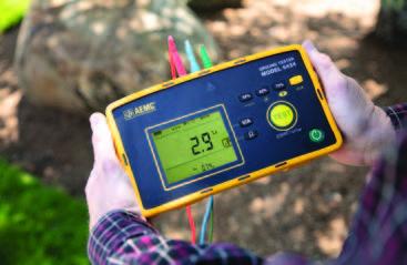 AEMC® Instruments has a New Digital Ground Resistance Tester Model 6424