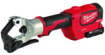 Milwaukee's new M18™ FORCE LOGIC™ 750 MCM Dieless Crimper