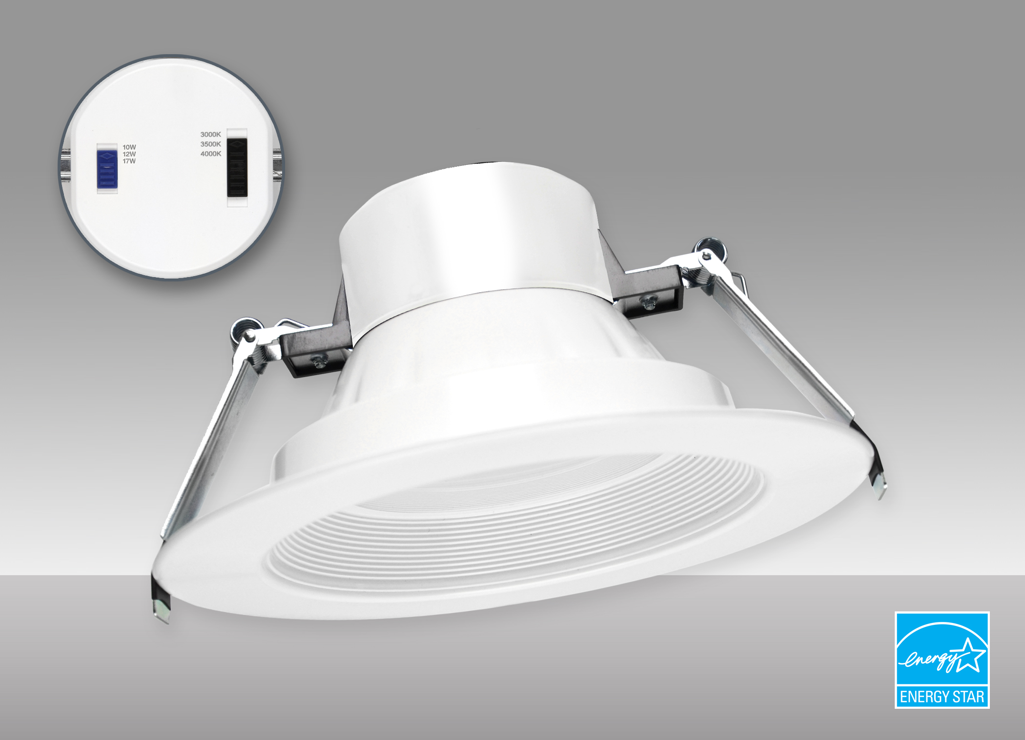 MaxLite Introduces Canless Commercial Downlights with Field-Selectable Wattages and CCTs