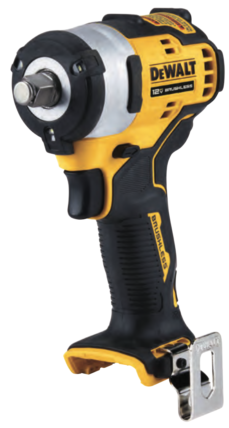 DEWALT® Debuts XTREME Subcompact Series™ 12V MAX Impact Wrenches For Tight-Area Jobs