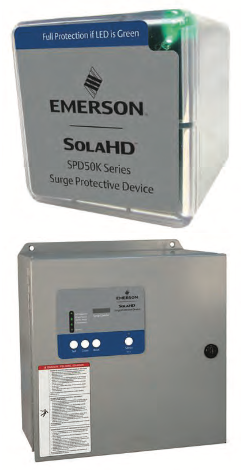 Emerson Announces Updates to SolaHD Surge Protective Devices and Power Filters
