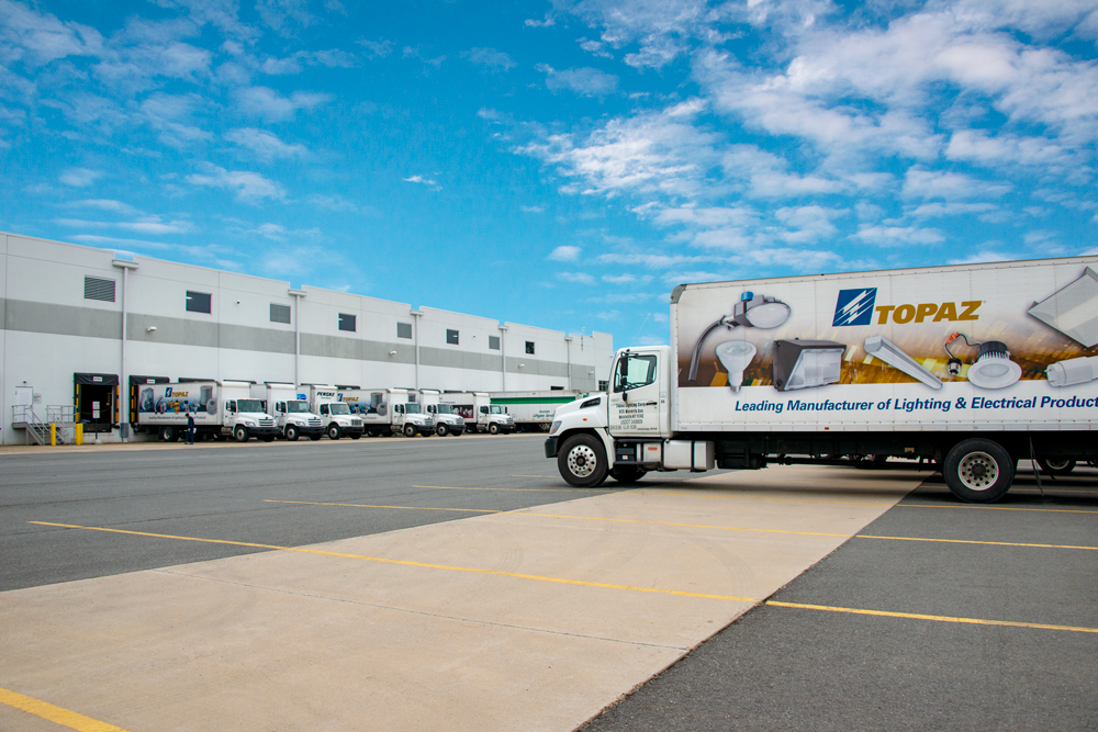 Topaz Opens New Distribution Center in Northeast