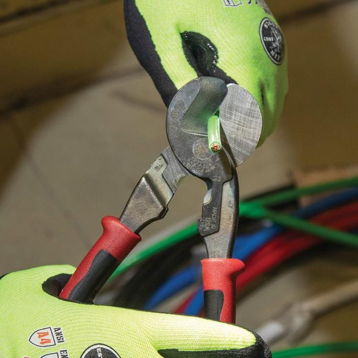 Klein Tools'® New Cable Cutter Adds Stripping to Increase Versatility