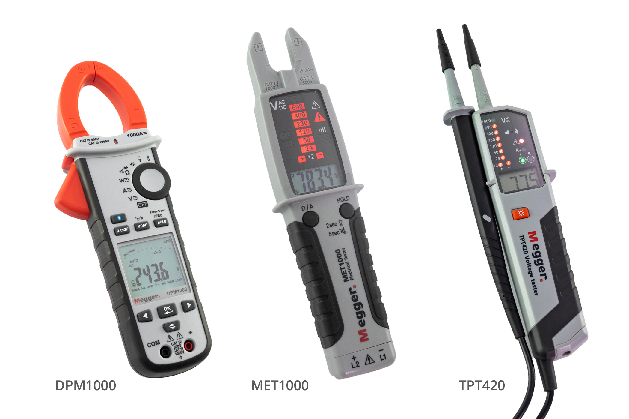 Three Compact Testers from Megger Make Taking Measurements Easier