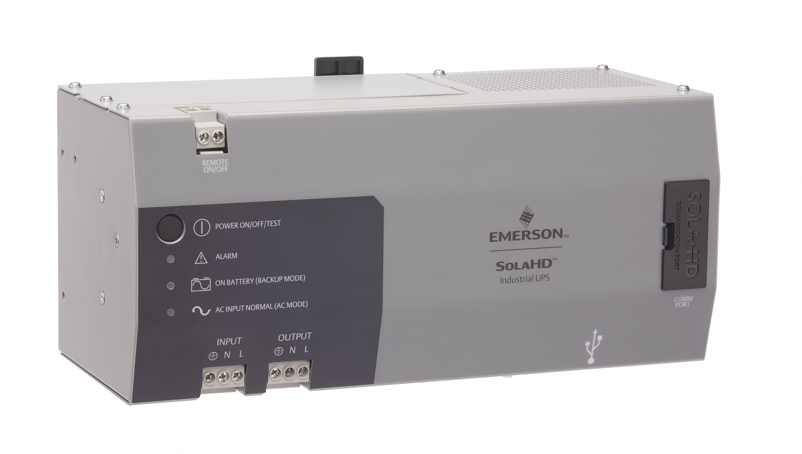 Emerson Uninterrupted Power Supply Maximizes Machine Availability and Minimizes Unplanned Disruptions in Harsh, High Temperature Industrial Environments