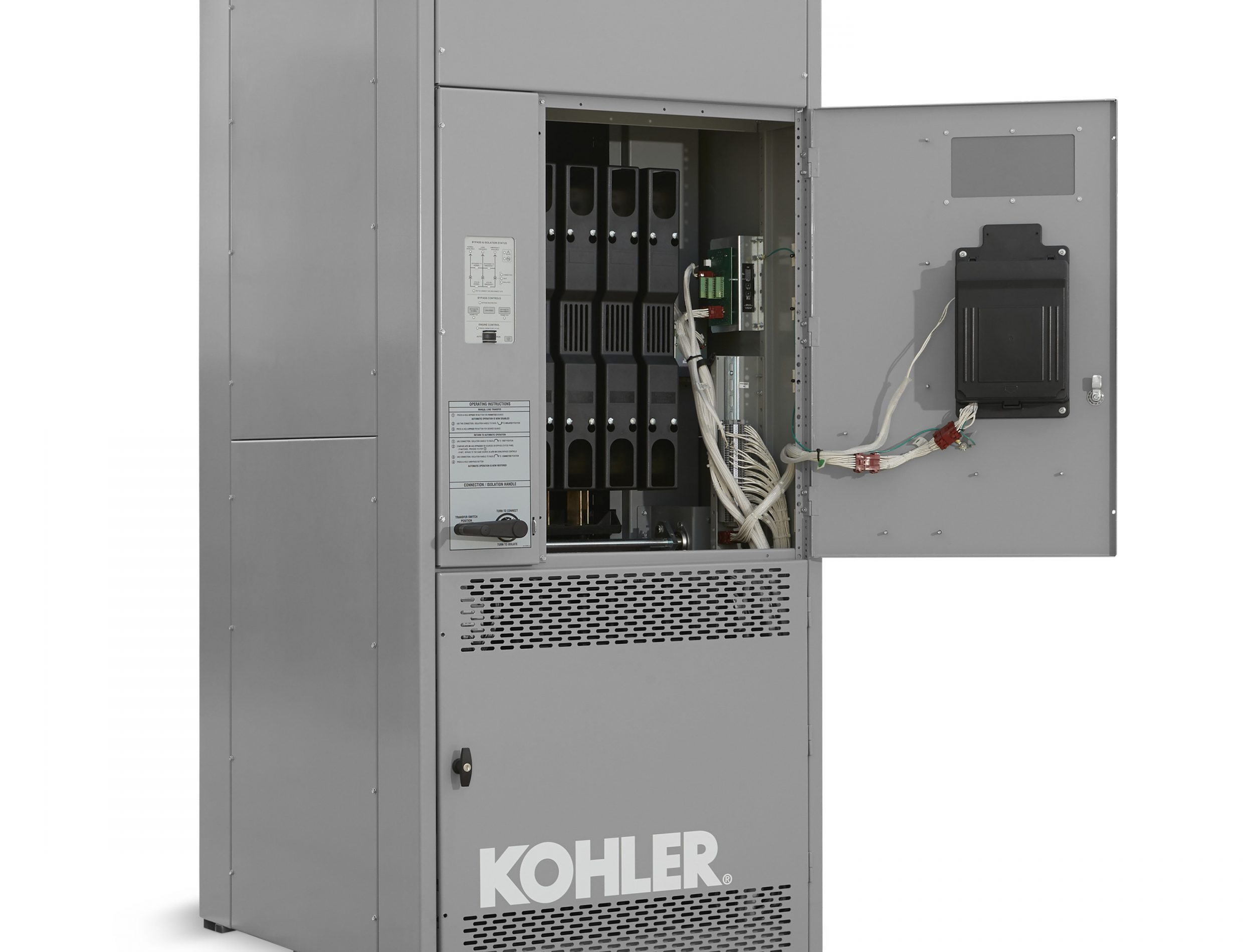KOHLER Unveils Electrically Operated Transfer Switches