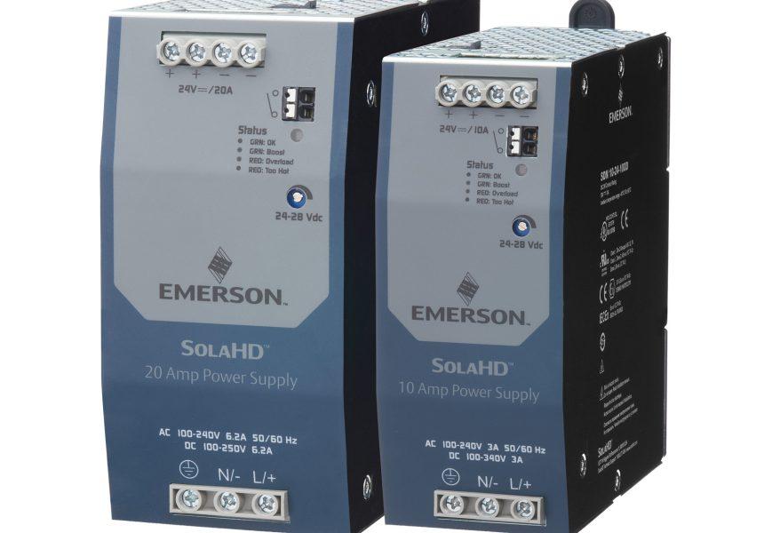 Emerson High-Efficiency Power Supplies Help Ensure Maximum Machine Availability in Harsh Industrial Environments
